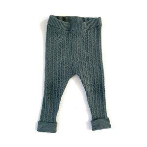 Zara Baby Girl Ribbed Knit Leggings